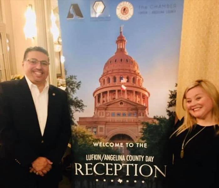 Patrick and Candice attend Lufkin/Angelina County Day at the Capitol in Austin Texas.