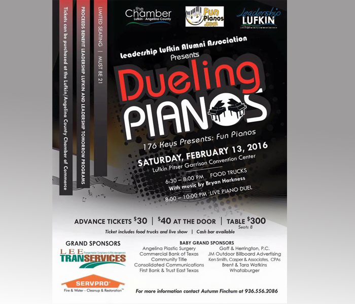 2016 Dueling Pianos