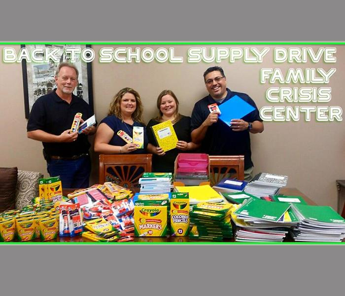 Back to School Drive Family Crisis Center 2015
