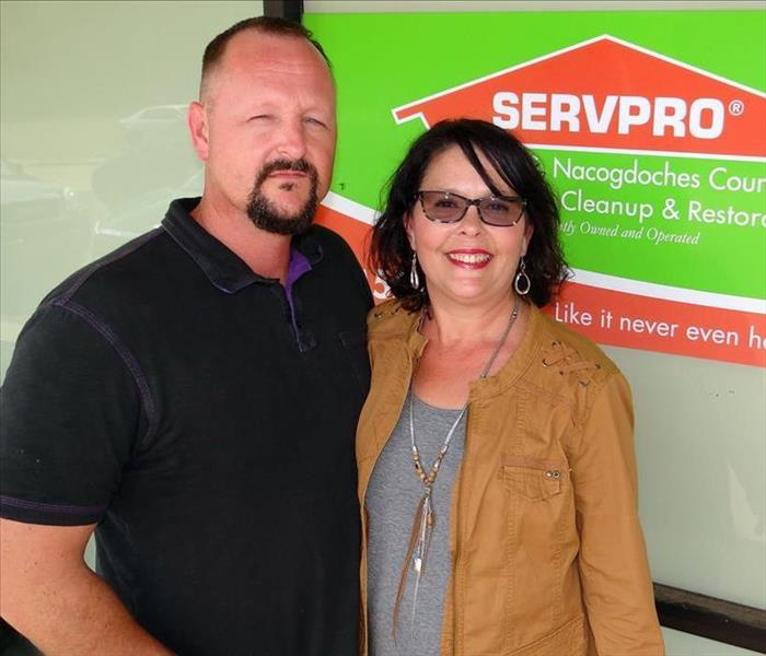 SERVPRO OF LUFKIN/S. NACOGDOCHES COUNTY NAMED SMALL BUSINESS OF THE YEAR