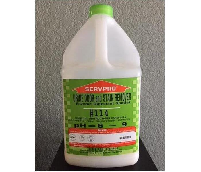 #114 SERVPRO Odor and Stain Remover.