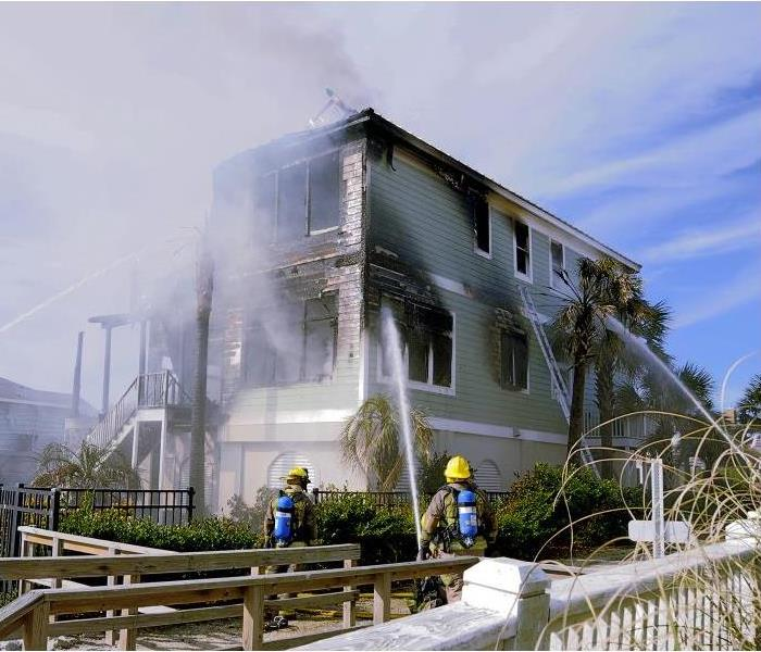 Fire Damage Fire And Smoke Damage Is Especially Destructive To Your Business