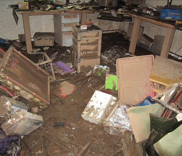 Storm Damage When Storms or Floods hit Lufkin or Nacogdoches, Texas SERVPRO is ready!