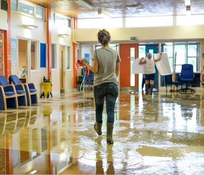 Water Damage SERVPRO's Quick Response can PREVENT Many Types of Secondary Damages