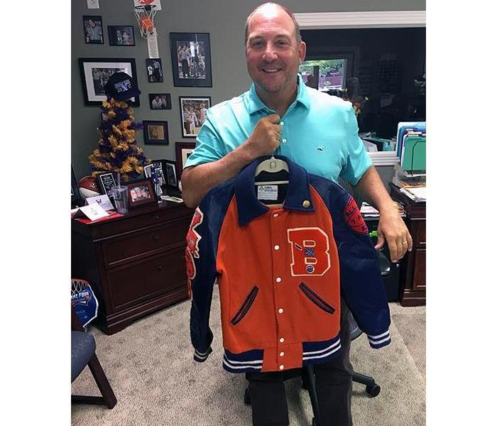 Why SERVPRO Bring that old Letterman jacket back to life!