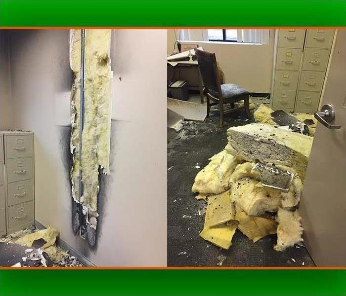 Why SERVPRO Even When the Fire is Contained Quickly the Smoke Damage can be Severe
